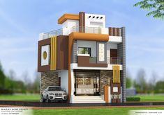 Model House Plan, My House Plans, House Front Design, Modern House Design, Home Building Design, Building A House, Indian House Plans, Minecraft City, Bedroom False Ceiling Design