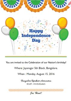 17 best indian independence day free e cards images on pinterest host the independence day party e card stopboris Choice Image