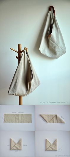Diy Sewing Projects, Sewing Crafts, Bag Patterns To Sew, Sewing Patterns, Small Boutique Ideas, Pochette Diy, Boho Bags, Sewing Box, Diy Clothing