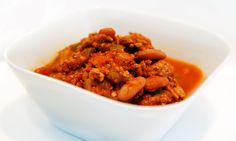 Dukan Diet Turkey Chili - Cruise (by omitting the beans) on a PV Day or Consolidation Phase