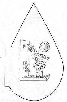 Hoy día mundial del Agua ostraemos recursos recopilatorios sobre el agua El agua es un elemento líquido que se en... Special Education Activities, Kids Education, Coloring For Kids, Coloring Books, Planet Crafts, Water Poster, World Water Day, Water Cycle, Kindergarten Crafts