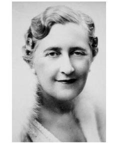 Agatha Christie. Creator of Miss Marple & Hercule Poirot detectives.