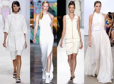 White Hot from Spring 2014 Trends From New York Fashion Week | E! Online