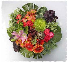 A FLOWER ARRANGER'S GARDEN - FLOWER ARRANGING BY CHRISSIE HARTEN - DESIGN 47