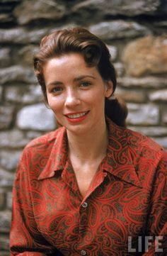 June Carter, Nashville, 1956 #1950s #country #music***Research for possible future project.