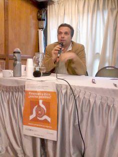 El italiano Francesco Vigliarolo comenta la experiencia de la Banca Popolare Ética de Italia Finance