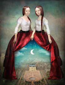 """""""Celestial Theatre"""" Digital Art by Christian  Schloe buy now as poster, art print and greeting card.."""