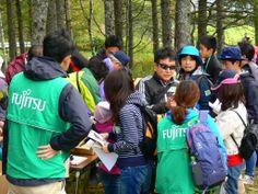 ≪Present Tree in 宮古≫ 第2回植樹イベント_20131013  富士通の皆さんも受け付け開始です。
