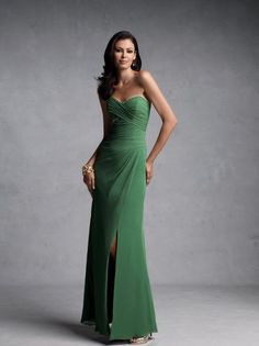 BY11182    Strapless chiffon gown with ruched crisscross bodice, hand-beaded accent on sweetheart neckline and under bust, asymmetrical waistline, soft gathered faux wrap slim skirt and corset back. Matching shawl and removable straps included. Available in all chiffon colors.
