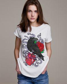 Match your mood corvidculture.com #CorvidCulture #MatchYourMood #LonelyHeart #Crow #Heart #Designers #AlternativeFashion #Streetwear #FashionBlogger #Model #Photoshoot