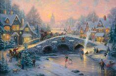thomas kinkade paintings | Home > Paintings > thomas kinkade paintings > thomas kinkade spirit of ...