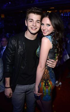 Jack Griffo and girlfriend Ryan Newman.