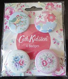 CATH KIDSTON METAL BADGES - ebay