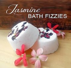 DIY Fizzie Bath Bombs...They fizz, hiss, and melt, leaving the fantastic smell of essential oils, and at the same time the natural oil leaves your skin smooth, soft and super moisturized. Love this as a gift idea...