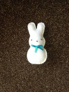 Handmade felt Rabbit (349)