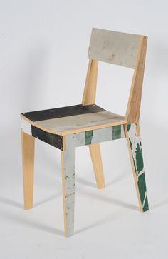 Oak Chair in Scrap Wood / Año: 2005 / Vendidas: 2441 desde 2007