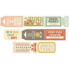 Happy-Go-Lucky Tickets 32/Roll-