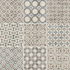 Decorative Tiles For Wall Baroque Whiteblue  Decorative Porcelain Tiles  Mandarin Stone