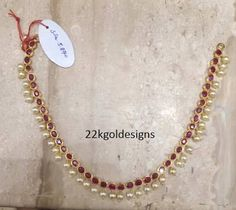 ruby necklace designs - Google Search