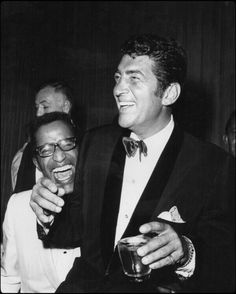 Sammy Davis Jr. and Dean Martin