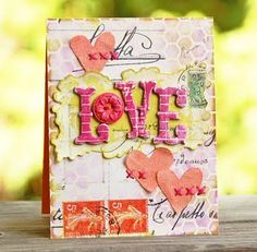 """Cute """"love"""" card"""