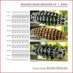* Eva Maria Keiser Designs: Beaded Bead Brigade #3 | 2003