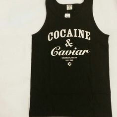 #CrooksandCastles #Cocaine & Caviar tanks available now www.houseoftreli.com