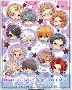 BROTHERS CONFLICT - Compact Mirror