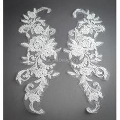Lace Appliques - Vena Cava Design