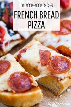 Pizza Recipes, Gourmet Recipes, Cooking Recipes, Healthy Recipes, Skillet Recipes, Cooking Gadgets, Healthy Food, Fun Easy Recipes, Easy Meals