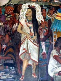 Mural (detail) by #Diego Rivera #Art