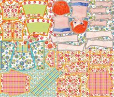 Spoonflower doll