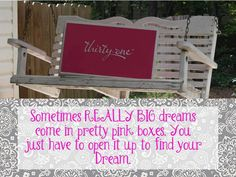 Start achieving your dreams now! #organizeinstyle