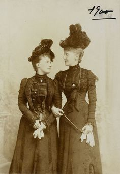 Grand Duchess Elisabeth Mavrikievna and Princess Marie Anne of Saxe-Altenburg