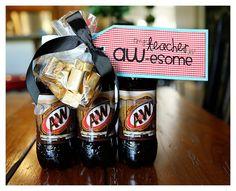 quick & cheesy teacher appreciation gifts - Eighteen25