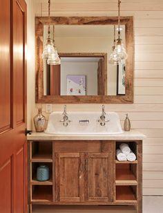Photography Gallery Sites Aspen Mountain Modern Rustic Bathroom Houston Laura U Inc