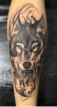 Wolf Face Tattoo, Wolf Tattoo Forearm, Wolf Tattoo Sleeve, Mark Tattoo, Cover Tattoo, Half Sleeve Tattoos Designs, Tattoo Designs, Wolf Tattoo Shoulder, Wolf Tattoos For Women
