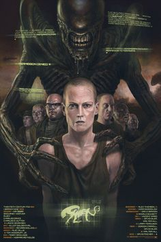 """Alien 3"" by John Barry Ballaran"