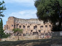 Great Buildings Image - Domus Aurea