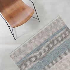 140x200 Norwich Teppich - Blau - von Linie Design