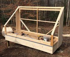 Building a solar lumber kiln - Pat's Home DIY Wood Kiln, Kiln Dried Wood, Woodworking Projects That Sell, Woodworking Workshop, Solar Kiln, Bandsaw Mill, Lumber Mill, Cool Wood Projects, Woodworking Equipment