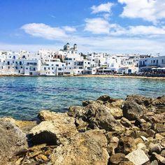 Greek Paradise at Paros , Cyclades Island Greece Paros Island, Greece Islands, Greece Travel, Dares, New York Skyline, Paradise, Greek, City, World