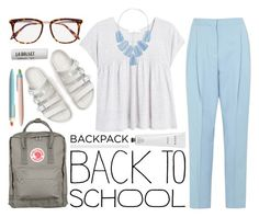 """""""Backpack on fleek"""" by camillaermitnavn ❤ liked on Polyvore"""