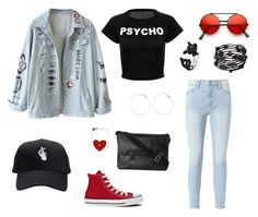 """""""Untitled #45"""" by reddbun on Polyvore featuring Frame, Converse, Cole Haan and 1928"""