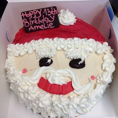 Santa clause cake