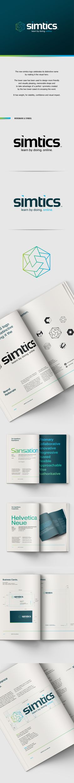 simtics by Alicja Murphy, via Behance