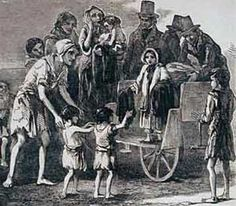 Irish Potato Famine (1845-1846) lead to a large Irish immigrant population.