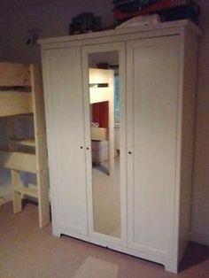 Luxury Erg mooie witte white wash deurs kledingkast van ikea merk aspelund