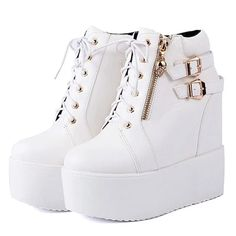 Dec 2019 - Skull Platform Ankle Boots – The Shoe Outlet Shop Top Shoes, Slip On Shoes, Me Too Shoes, Skull Shoes, Cute Teen Outfits, Red High Heels, Platform Ankle Boots, Cute Heels, Toe Shape