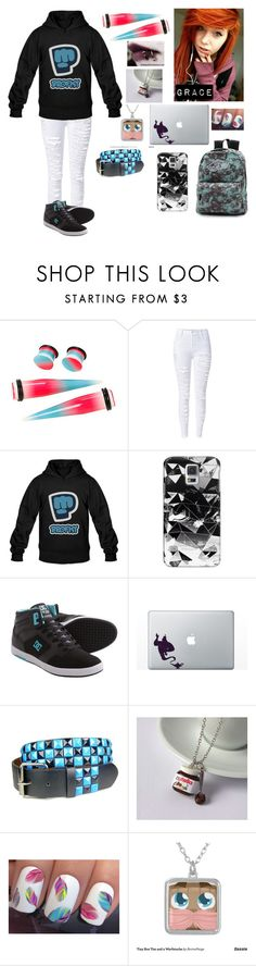 """""""Untitled #94"""" by thugpug887 ❤ liked on Polyvore featuring Casetify, DC Shoes and Vans"""